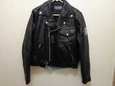 Harley Davidson Sturgis South Dakota Eagle Leather Jacket Size 40