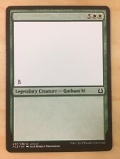 MTG M15 Test Print Misprint Green Ultra Rare