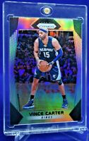 VINCE CARTER PANINI PRIZM SILVER REFRACTOR SP RARE FUTURE HALL OF FAME
