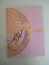 Catalogue Mode fashion VERSACE spring summer women's collection 2001