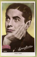 Actor - Tyrone Power - Real Photo Postcard