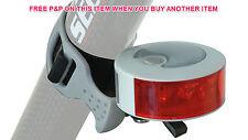 MTB ANY BIKE QUALITY REAR LIGHT AREO R15 4 LED REAR LIGHT SILVER/WHITE SALE 50%