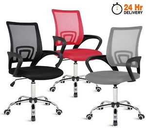 Adjustable Office Chair Ergonomic Gaming Computer Desk Chair Swivel Mesh Chairs