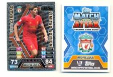 Liverpool Football Trading Cards Topps 2013-2014 Season