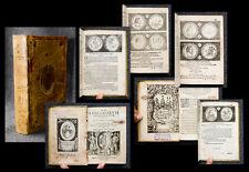 1603 Numismatik Numismatics numismatis Münzen Wappeneinband Hulsius 150+ Kupfer