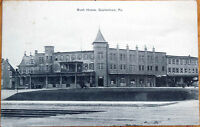 1909 Postcard: Bush House - Quakertown, Pennsylvania PA