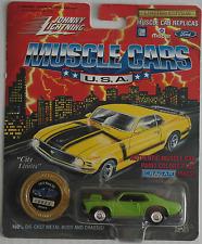 Johnny Lightning -'72/1972 Chevy Nova SS verde nuevo/en el embalaje original
