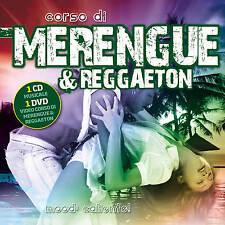 CORSO DI MERENGUE & REGGAETON CD + DVD Compilation musica e Guida agli esercizi