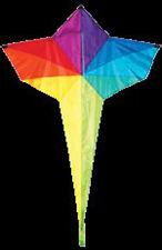 "Kite Rainbow Star Shape 46"" x 36"" Kite with Winder & String ..12...SKD 01086"