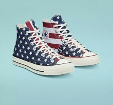Converse Chuck 70 Shoes High Top Restructured Americana Size 10.5M 12.W Flag USA