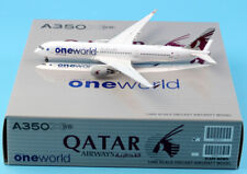 1 400 JC Wings Qatar Airways One World Airbus A350-900 Airplane Diecast Model