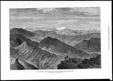1879 AFGHAN WAR The Safed Koh Mountain Range Khoord Khyber (047)