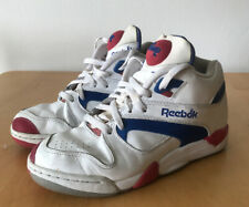 Reebok Pump Tennis Hexalite White Blue Sneakers UK7 US8 EUR40.5