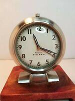 Westclox Big Ben Alarm Clock, Illuminated Hands, Battery Operated