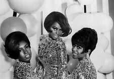 Diana Ross & The Supremes Motown Group Glossy Photo Music Print Picture A4