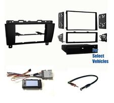 Car Stereo Radio Install Dash Kit Combo for 2005-2007 2008 2009 Buick Lacrosse