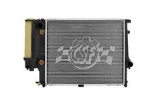 Radiator-1 Row Plastic Tank Aluminum Core CSF 2527