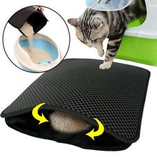 "New listing 24""X 18"" Double-Layer Cat Litter Box Mat Trapper Eva Pad Pet Foam Waterproof Rug"
