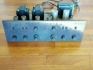 Fisher X-100 Tube Integrated Amplifier - For Parts/Services