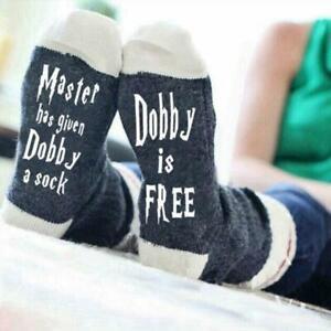 Harry Potter Dobby is a Free Elf Socks Movie Warner Bros Magic 35 Wizarding