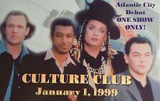 RARE- SANDS CASINO- VIP CONCERT INVITE PROMO- CULTURE CLUB- ATLANTIC CITY, NJ