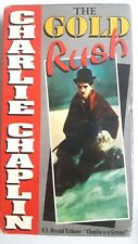 Charlie Chaplin - The Gold Rush Vhs New Sealed 1993