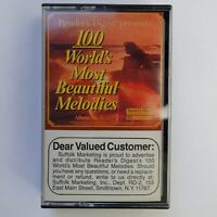 100 World's Most Beautiful Melodies Tape 3 (Cassette)