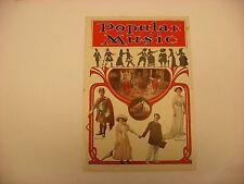 Original Victor Phonograph Advertising Pamphlet - Popular Music