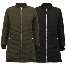 Casual Regular Size Coats & Jackets Quilted for Women