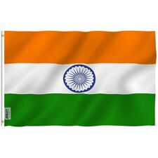 Anley India Flag Indian Banner Polyester 3x5 Foot Country Flags