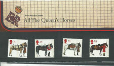 1997 GB presentation pack all the queen's horses # 278 8.7.97