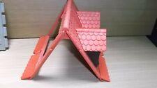 Playmobil komplettes Dach für Fachwerkhaus Ritterburg 3666 Spitzgaube Fenster