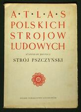 BOOK ATLAS OF POLISH FOLK COSTUME Pszczyna ethnic dress POLAND fashion Germany