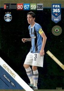 CARD PANINI ADRENALYN FIFA 365 2018 2019 N.282 GEROMEL GREMIO FANS FAVOURITE