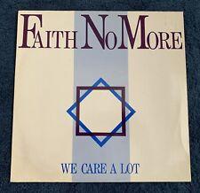 Faith No More - We Care a Lot - vinyl album (Mordam, 1985)