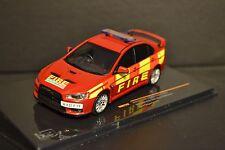 Mitsubishi Lancer EVO X Fire Department 2011 diecast vehicle in scale 1/43