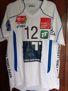Jersey  Asics Volleyball Team Tirol 12 BERGER Cup CEV Champion League XL size