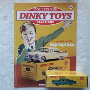 DINKY TOYS DODGE ROYALE Sedan 1/43 De Agostini + fascicolo 32
