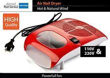 Hot Cold Air Nail Polish Dryer Blower Manicure Drying Nail Polish & Acrylic fan