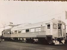 More details for chico california budd rail car 1950 original b & w photo.
