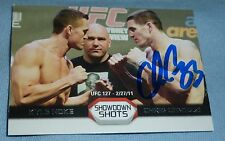 Chris Camozzi Signed 2011 UFC Topps Moment of Truth ShowDown Shots Card Auto'd