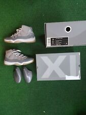 Air Jordan XI Retro Cool Grey 2010, US 9, used, shoe tree, original tissue paper