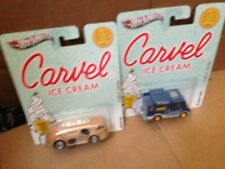Hot Wheels Carvel Ice Cream Lot of 2x cars 1:64 scale