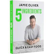 5 Ingredients - Quick & Easy Food by Jamie Oliver (2017, Hardcover)