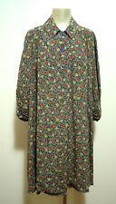 LAURA BIAGIOTTI Abito Vestito Donna Seta Woman Silk Dress Sz.XL - 48