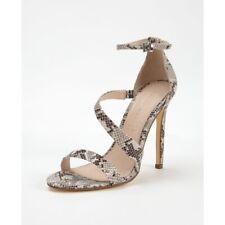 Snakeskin Stiletto Heels Size 7  NEW Shoebox