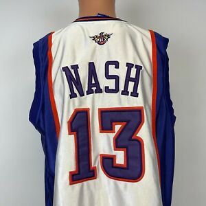 Champion Authentic Steve Nash Phoenix Suns Jersey Vtg 2000s NBA Sewn Size M