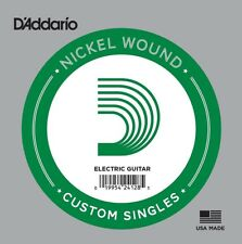 1 x D'Addario NW068 Single Nickel Wound .068 Electric Guitar String Custom Gauge