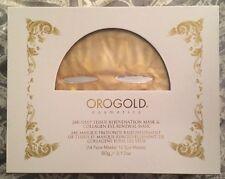 Orogold 24K Deep Tissue Rejuvenation Mask & Collagen Eye Renewal Mask ($1100)
