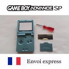 Coque GAME BOY ADVANCE SP Vert Green NEUF NEW + tournevis - shell case GBA